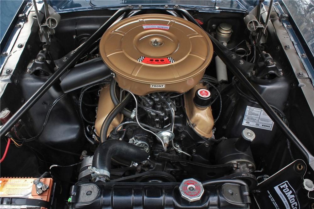 1965 FORD MUSTANG CONVERTIBLE - Engine - 161653