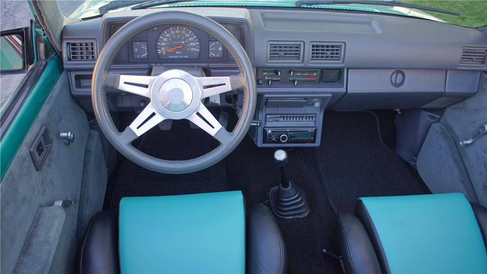 1987 TOYOTA CUSTOM PICKUP - 161654