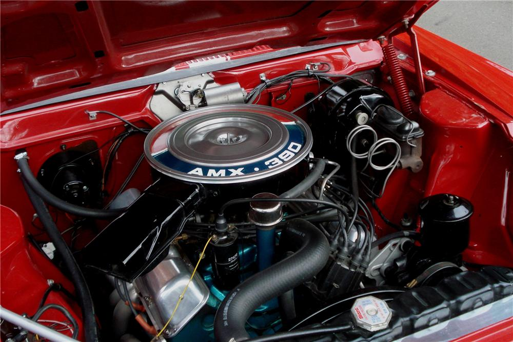 1969 AMERICAN MOTORS AMX 2 DOOR COUPE - Engine - 161655