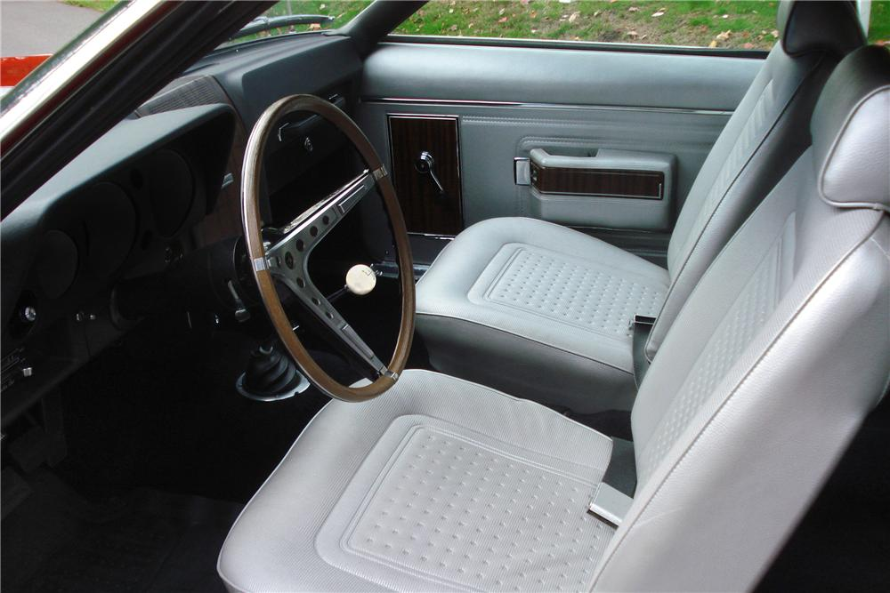 1969 AMERICAN MOTORS AMX 2 DOOR COUPE - Interior - 161655
