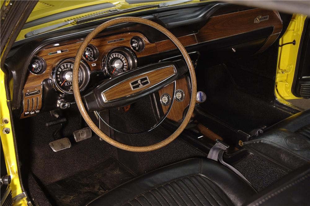 1968 SHELBY GT500 KR CONVERTIBLE - Interior - 161666