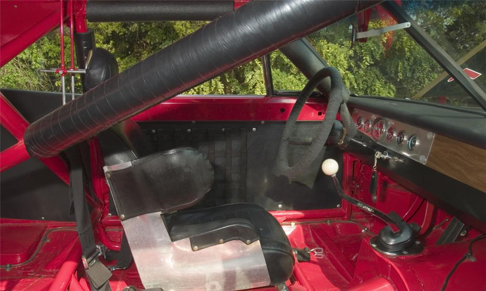 1969 DODGE DAYTONA WING RACE CAR - Interior - 16167