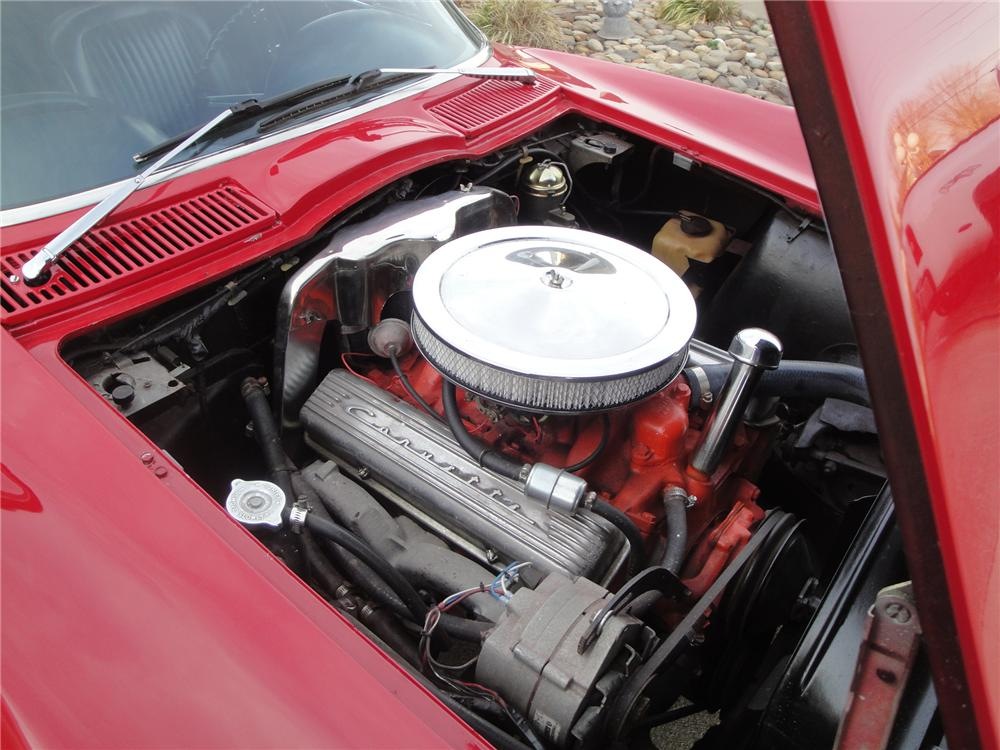 1963 CHEVROLET CORVETTE CONVERTIBLE - Engine - 161676