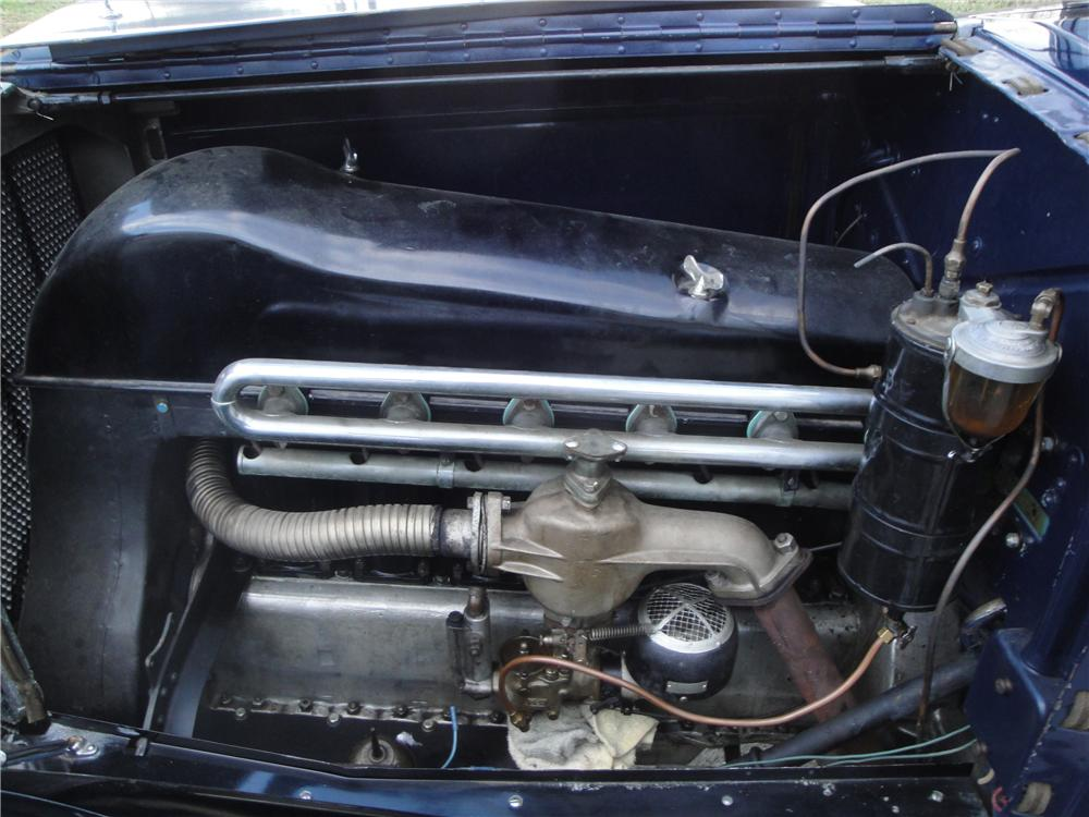 1925 FRANKLIN SERIES II SPORT 2 DOOR RUNABOUT - Engine - 161677