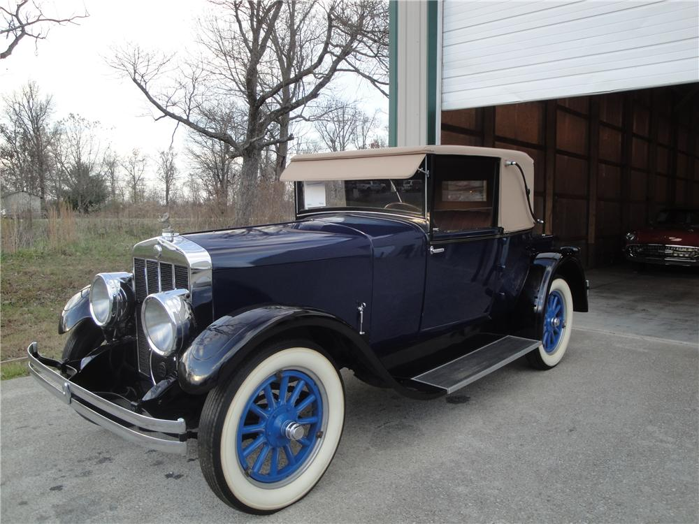 1925 FRANKLIN SERIES II SPORT 2 DOOR RUNABOUT - Front 3/4 - 161677