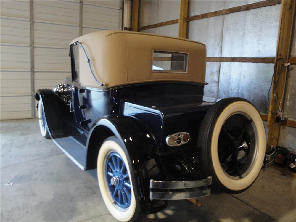 1925 FRANKLIN SERIES II SPORT 2 DOOR RUNABOUT - Rear 3/4 - 161677