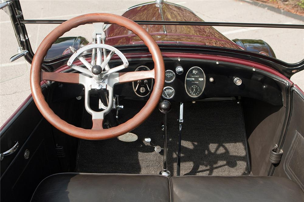 1924 LINCOLN MODEL L TOURING - Interior - 161681
