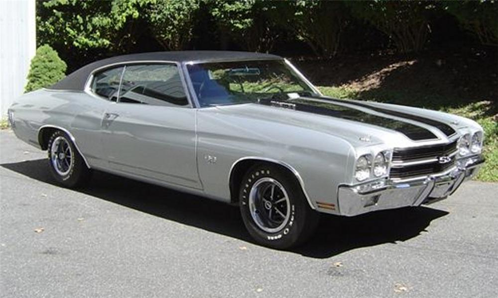 1970 CHEVROLET CHEVELLE SS 396 2 DOOR COUPE - Front 3/4 - 16169