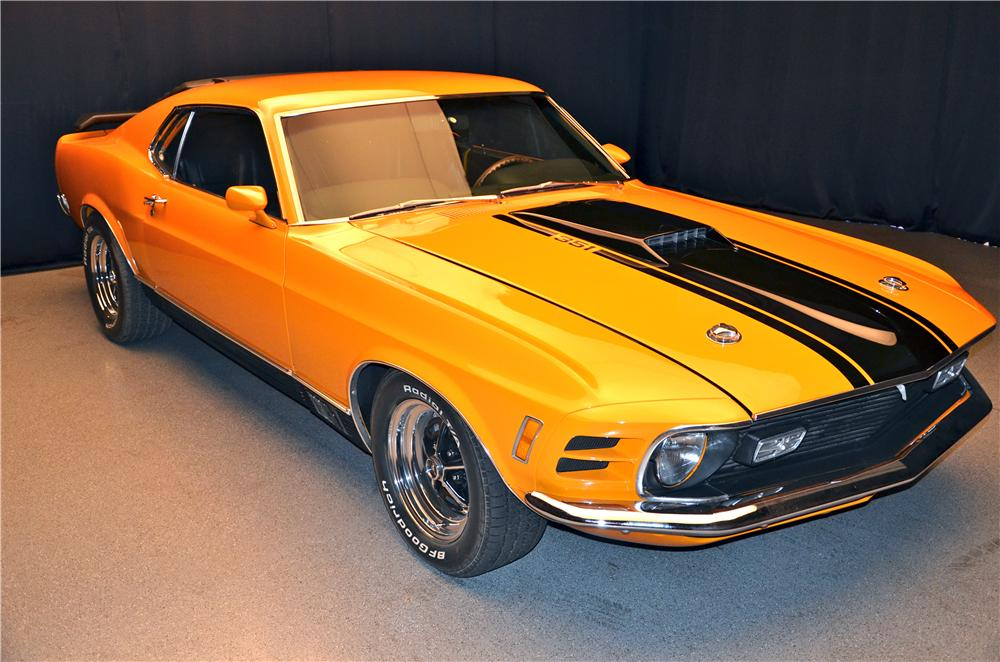 1970 FORD MUSTANG MACH 1 FASTBACK - Front 3/4 - 161691