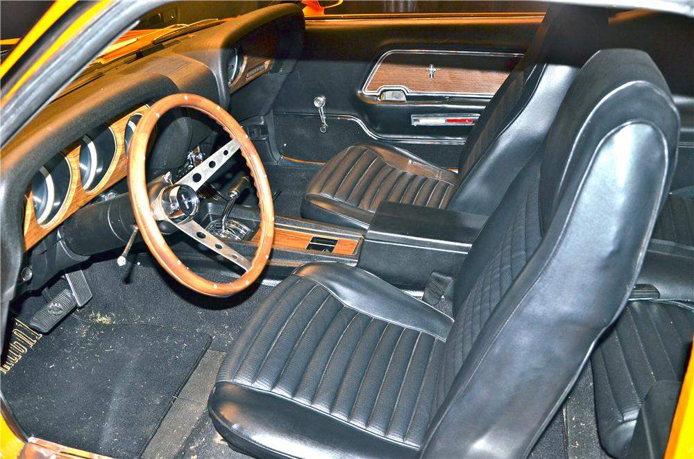 1970 FORD MUSTANG MACH 1 FASTBACK - Interior - 161691