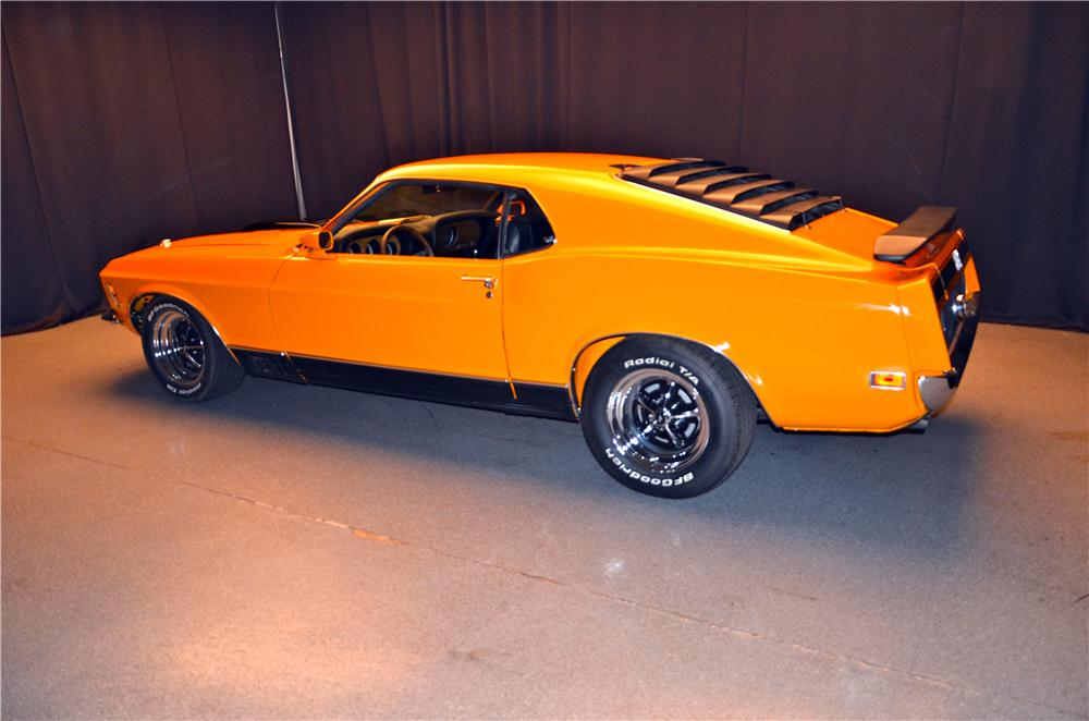1970 FORD MUSTANG MACH 1 FASTBACK - Rear 3/4 - 161691