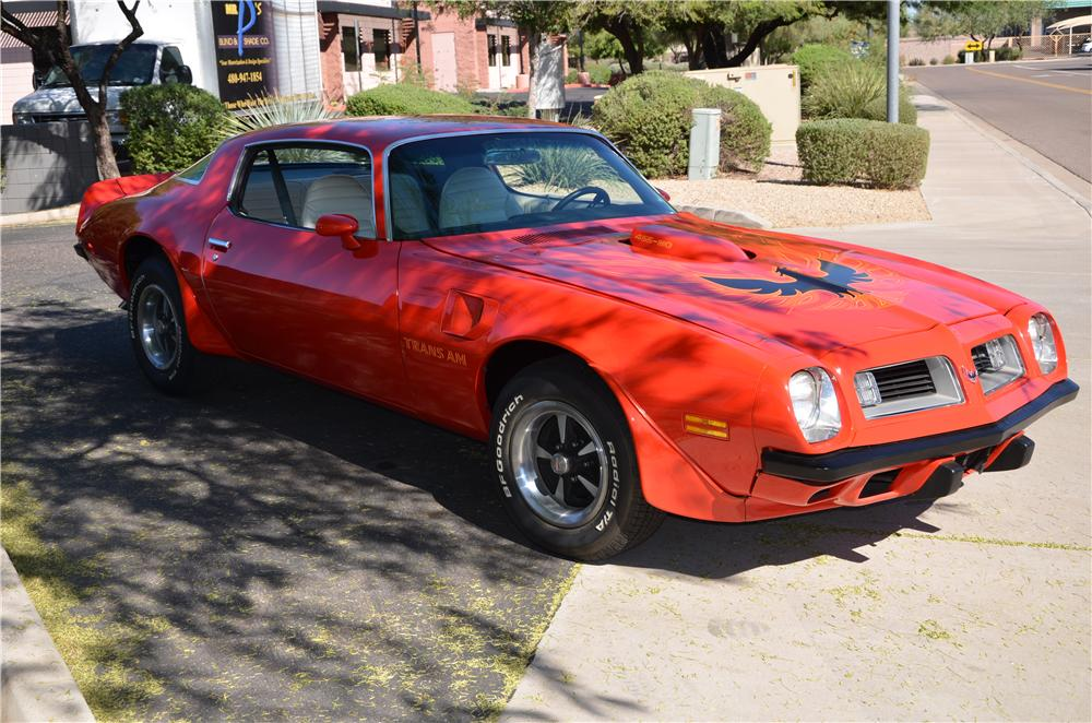 1975 PONTIAC FIREBIRD TRANS AM 2 DOOR COUPE