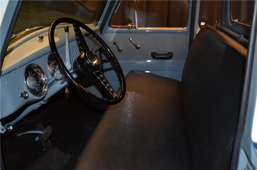 1954 CHEVROLET 3100 PICKUP - Interior - 161694