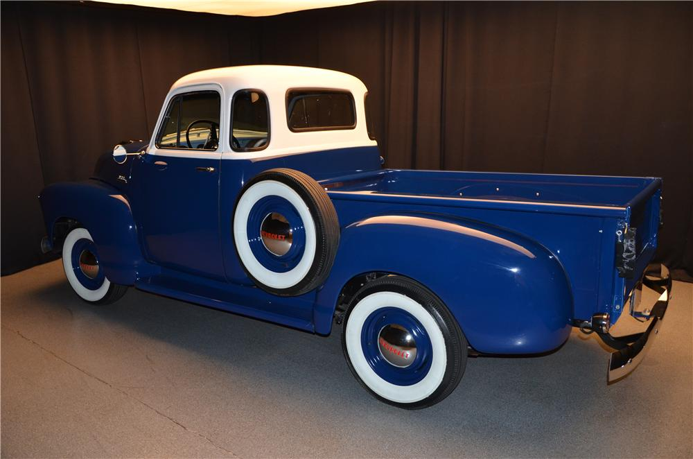 1954 CHEVROLET 3100 PICKUP - Rear 3/4 - 161694