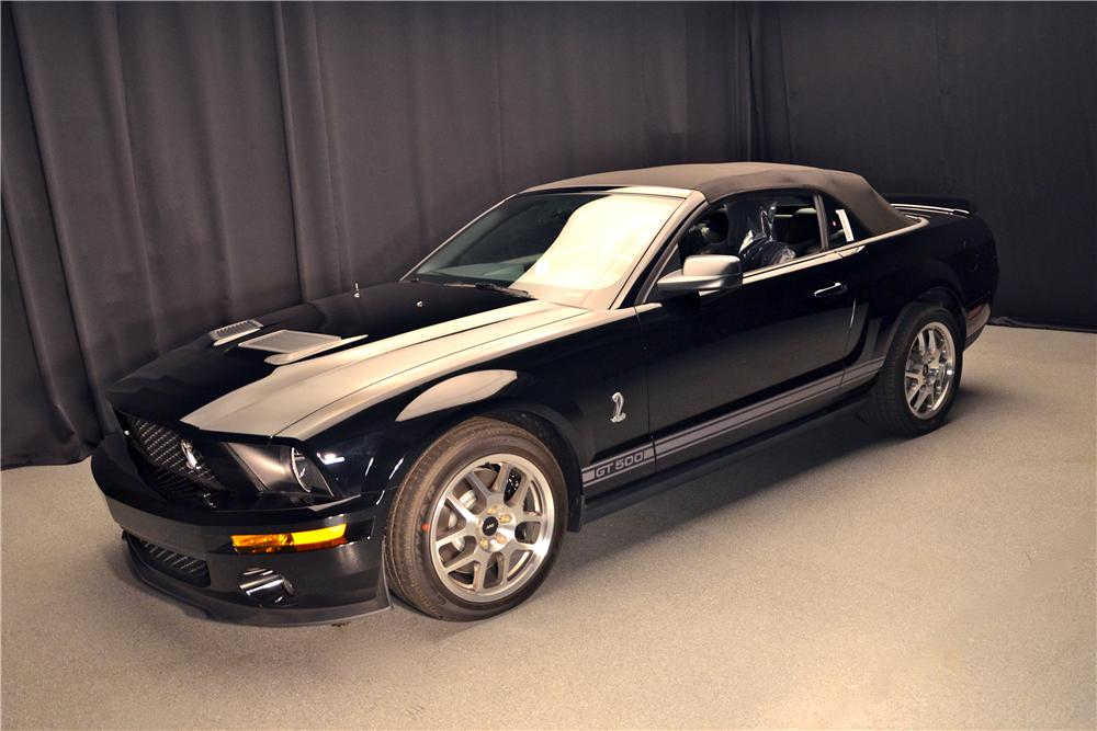 2007 SHELBY GT500 CONVERTIBLE - Front 3/4 - 161695