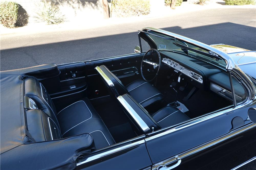 1962 CHEVROLET IMPALA CONVERTIBLE - Interior - 161697