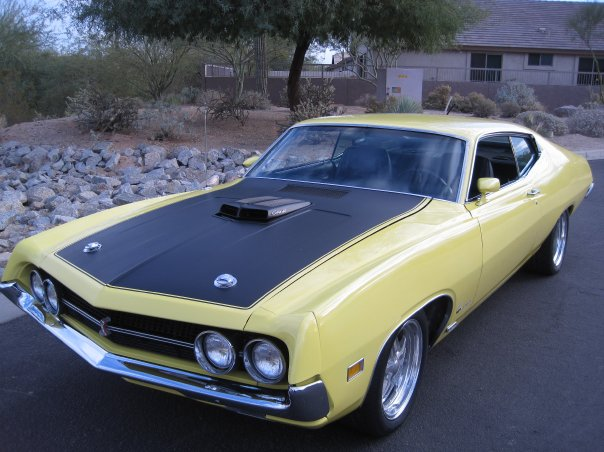 1970 FORD TORINO COBRA 2 DOOR COUPE - Front 3/4 - 161705