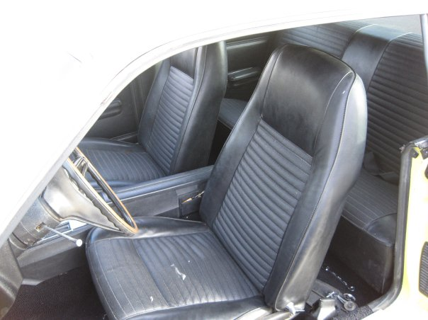 1970 FORD TORINO COBRA 2 DOOR COUPE - Interior - 161705