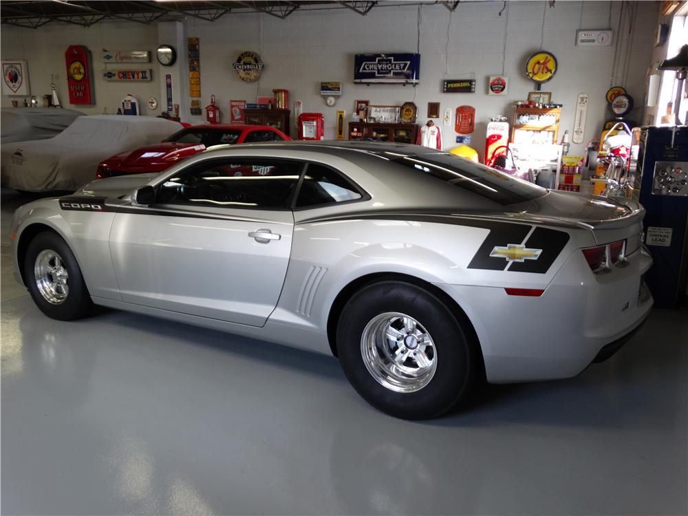 2013 CHEVROLET CAMARO COPO COUPE - Rear 3/4 - 161724