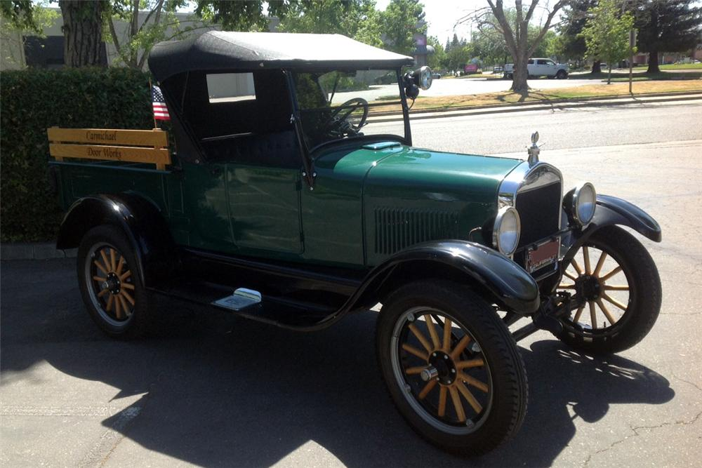 1927 FORD MODEL T PICKUP - Front 3/4 - 161729