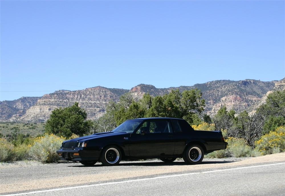 1987 BUICK GRAND NATIONAL 2 DOOR COUPE - Side Profile - 161731