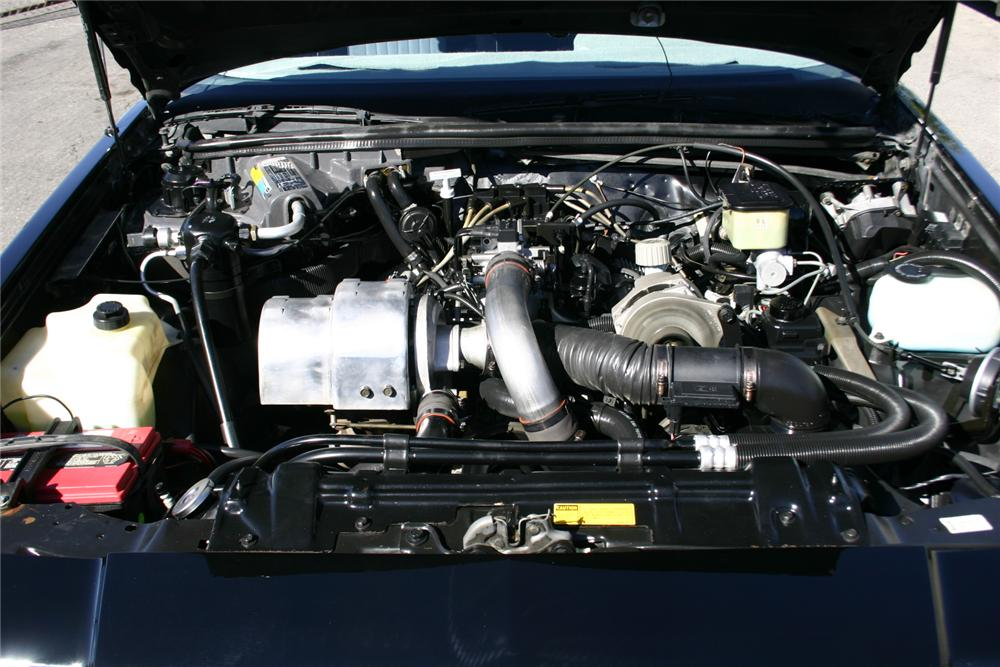 1987 BUICK GRAND NATIONAL 2 DOOR COUPE - Engine - 161732