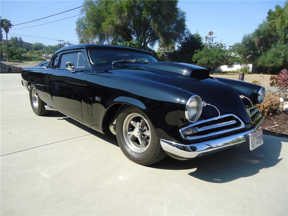 1953 studebaker commander custom 2 door coupe 161743 - 1953 studebaker champion starlight coupe ...