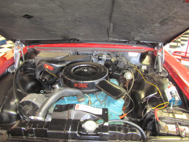1963 PONTIAC LEMANS CONVERTIBLE - Engine - 161744