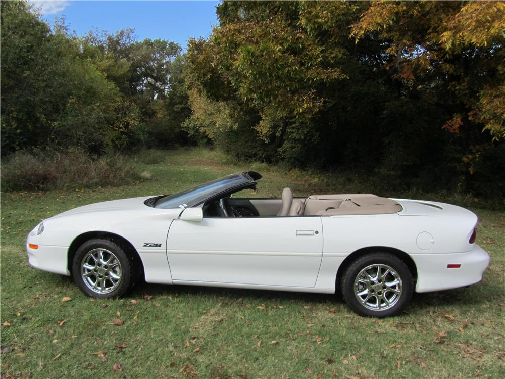 2002 CHEVROLET CAMARO Z/28 LS1 CONVERTIBLE - Side Profile - 161745