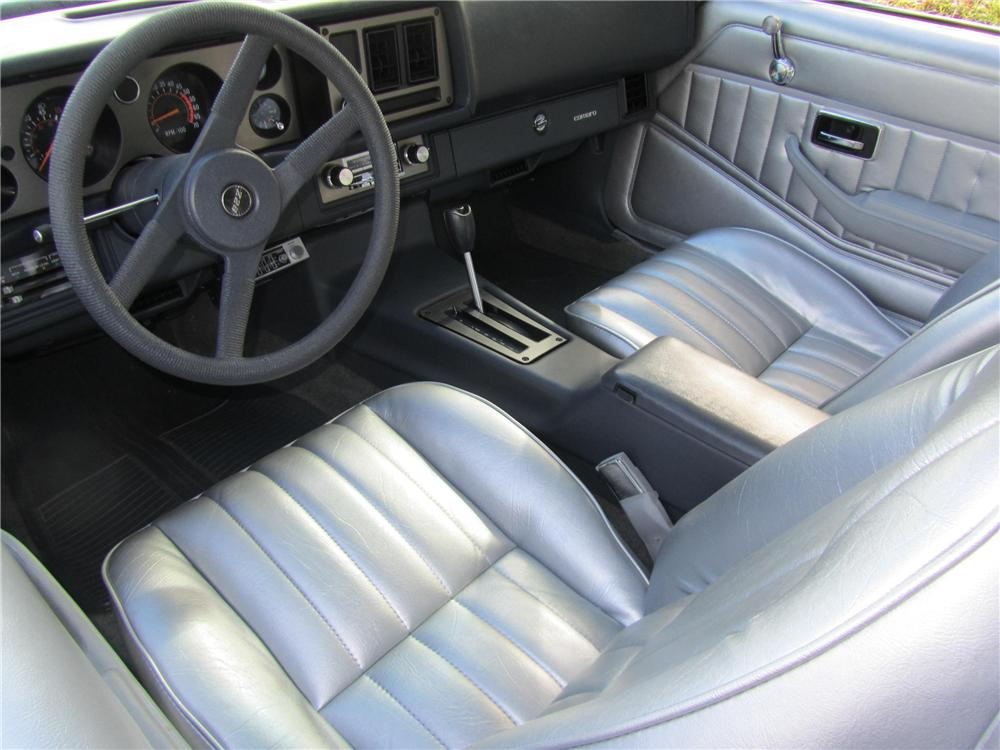 1981 CHEVROLET CAMARO Z/28 2 DOOR COUPE - Interior - 161746