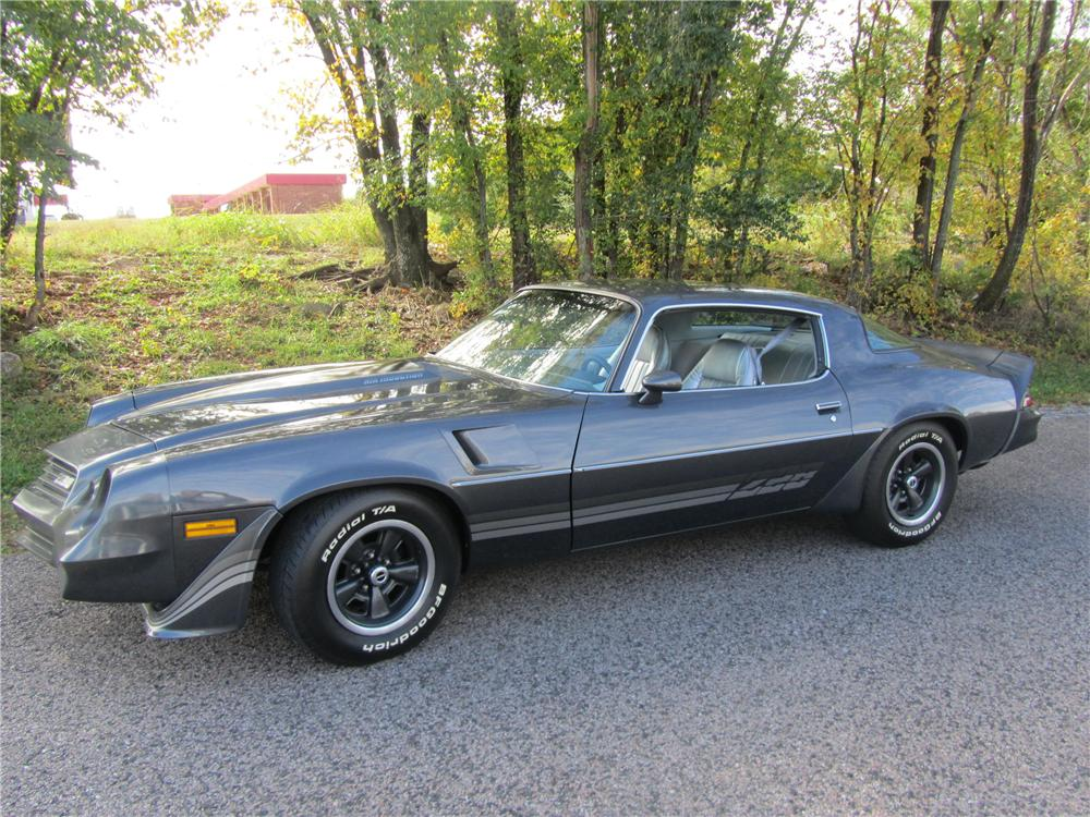 1981 CHEVROLET CAMARO Z/28 2 DOOR COUPE - Side Profile - 161746