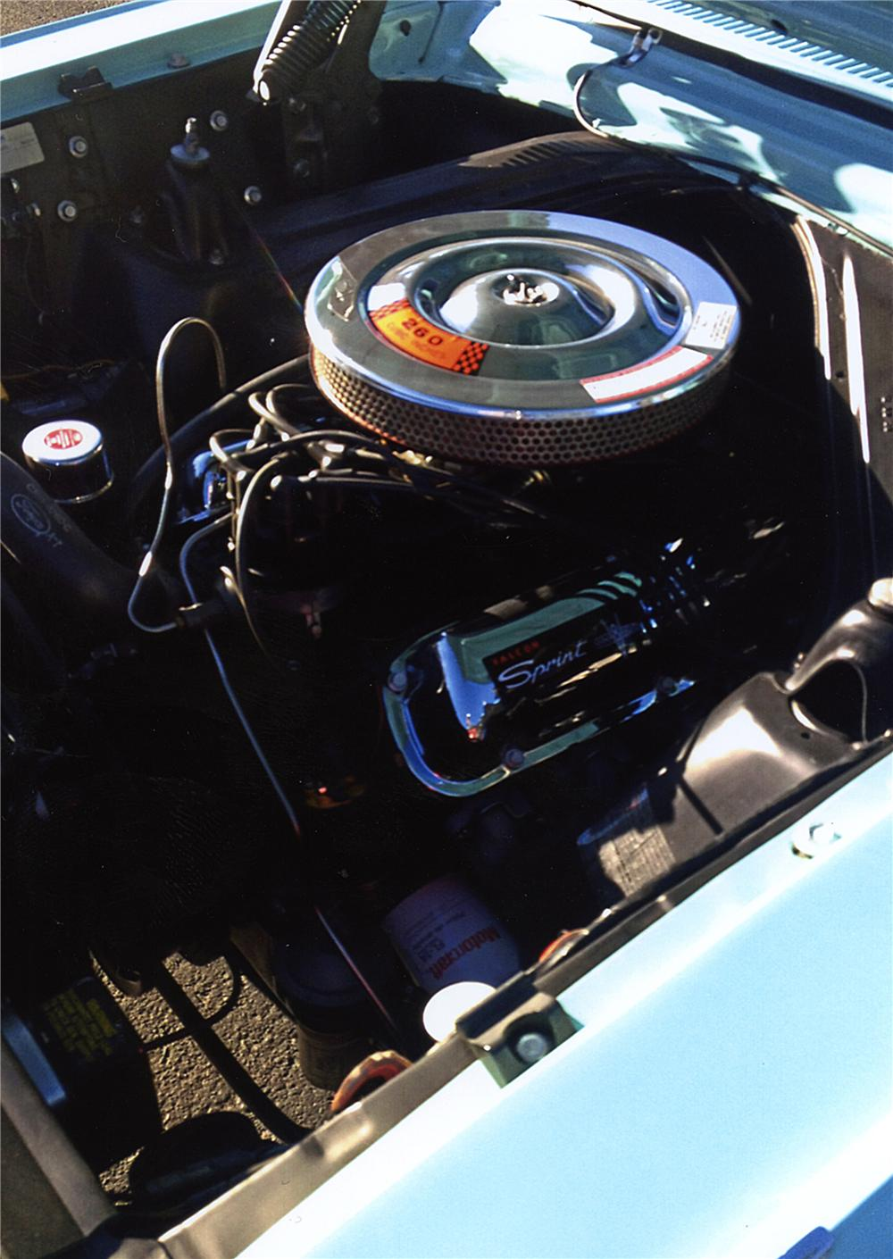 1963 FORD FALCON SPRINT CONVERTIBLE - Engine - 161748