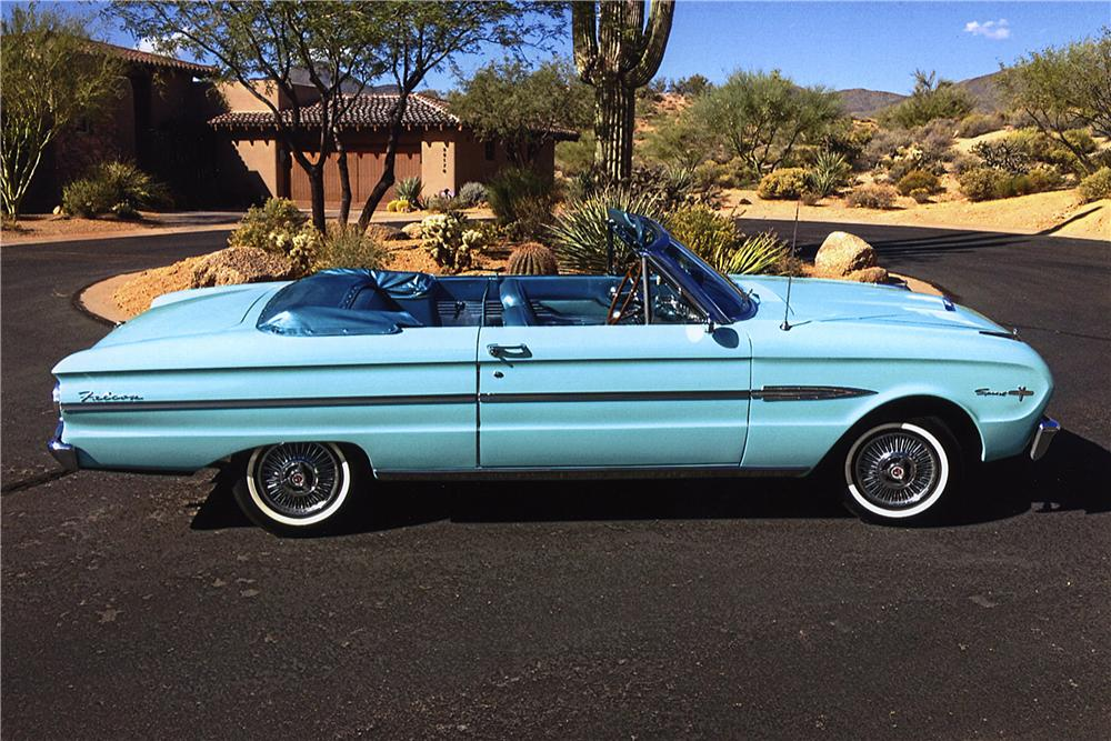 1963 FORD FALCON SPRINT CONVERTIBLE 161748
