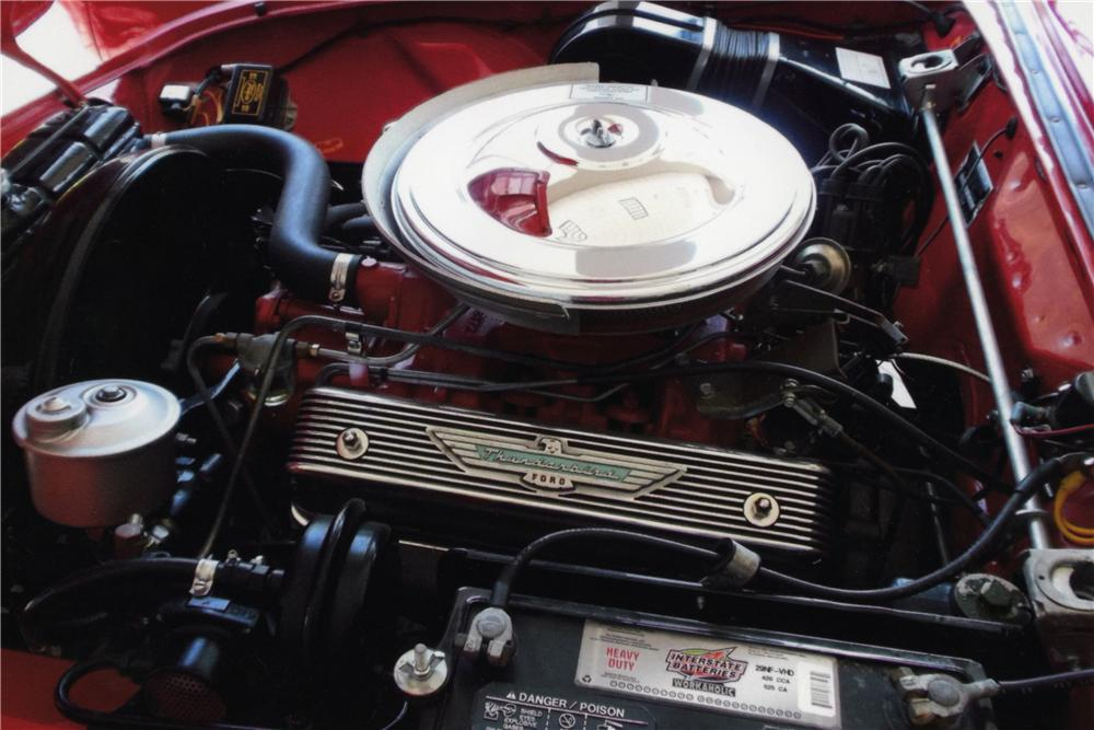 1957 FORD THUNDERBIRD CONVERTIBLE - Engine - 161751