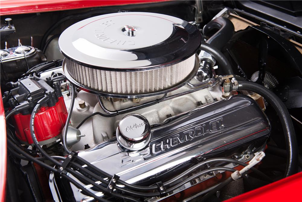 1967 CHEVROLET CORVETTE CUSTOM CONVERTIBLE - Engine - 161754