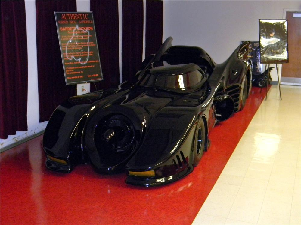 1989 WARNER BROTHERS BAT MOBILE - Front 3/4 - 161755