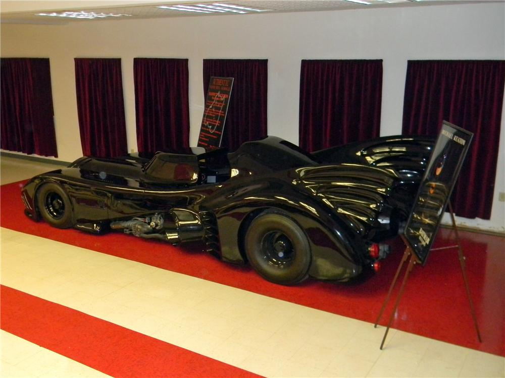 1989 WARNER BROTHERS BAT MOBILE - Rear 3/4 - 161755