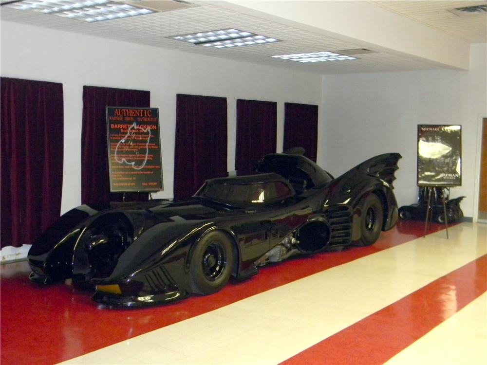 1989 WARNER BROTHERS BAT MOBILE - Side Profile - 161755