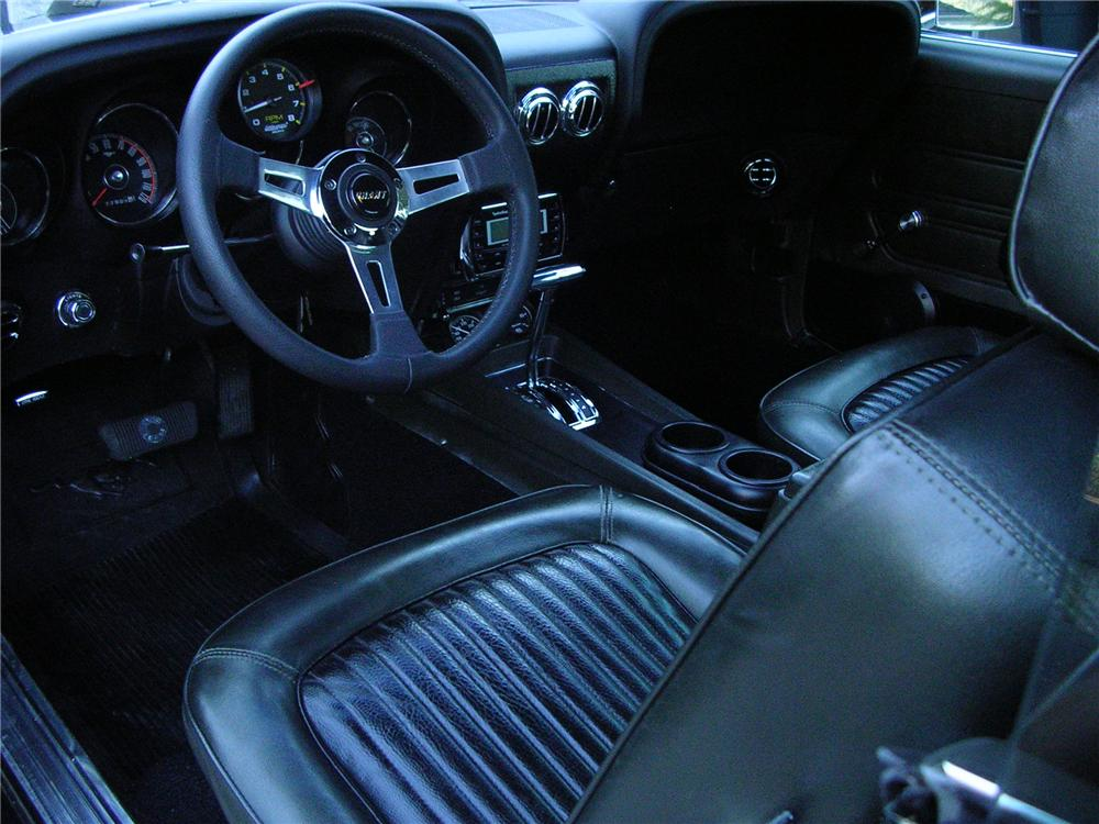 1969 FORD MUSTANG CUSTOM 2 DOOR COUPE - Interior - 161758