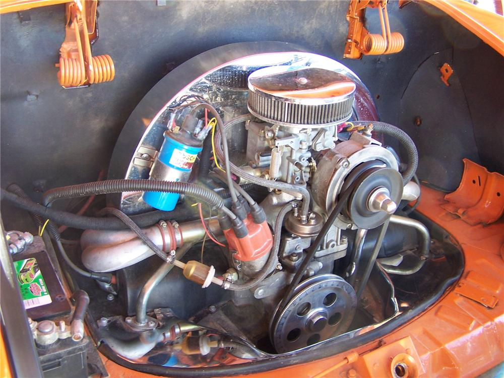 1971 VOLKSWAGEN KARMANN GHIA FASTBACK - Engine - 161762