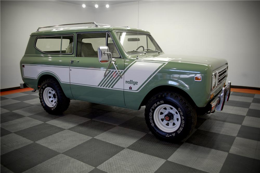 1978 INTERNATIONAL SCOUT II SUV - Front 3/4 - 161763