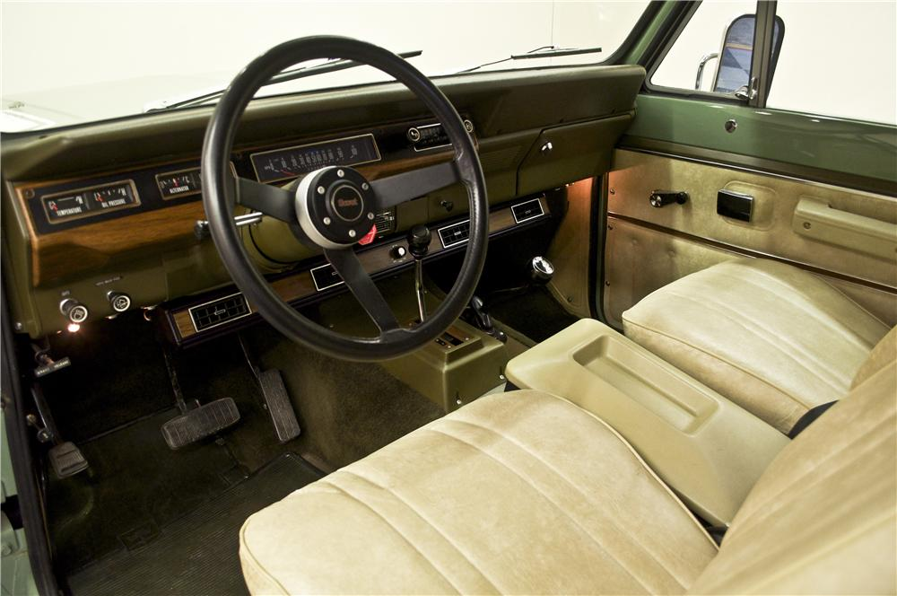 1978 INTERNATIONAL SCOUT II SUV - Interior - 161763