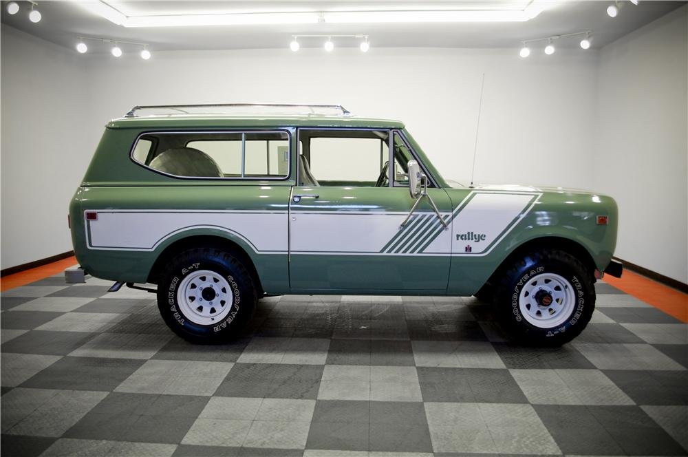 1978 INTERNATIONAL SCOUT II SUV - Side Profile - 161763