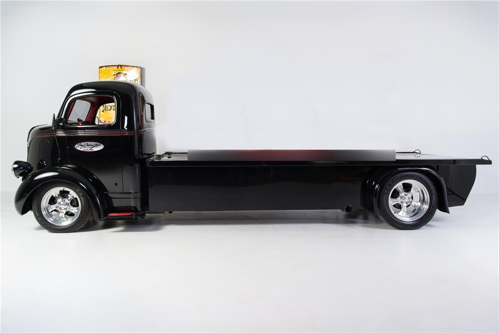 1948 FORD CAB OVER CUSTOM TRUCK - Side Profile - 161764