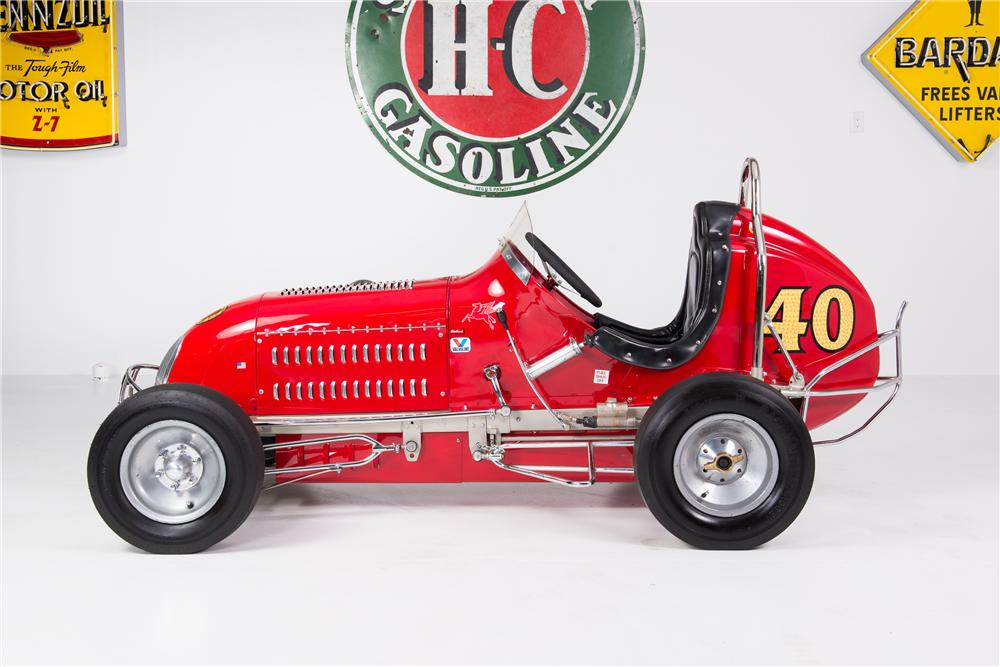 1946 COOKMAN SPECIAL MIDGET RACER - Side Profile - 161766