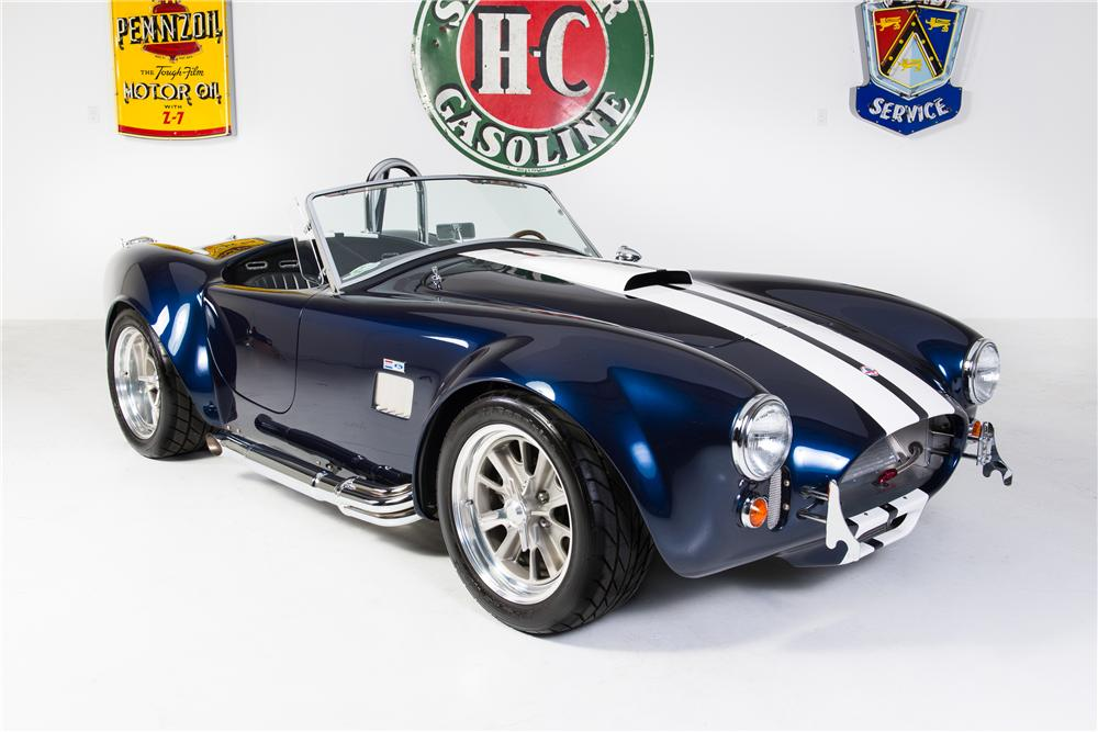 1965 SHELBY COBRA RE-CREATION ROADSTER - Front 3/4 - 161767