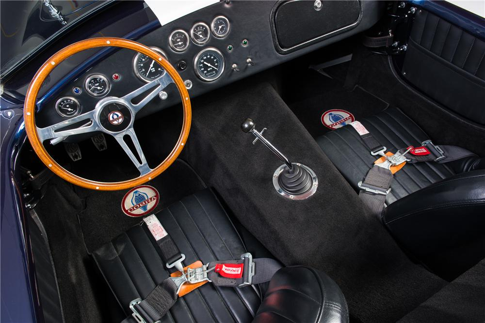 1965 SHELBY COBRA RE-CREATION ROADSTER - Interior - 161767