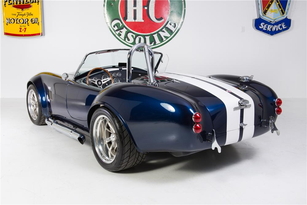 1965 SHELBY COBRA RE-CREATION ROADSTER - Rear 3/4 - 161767