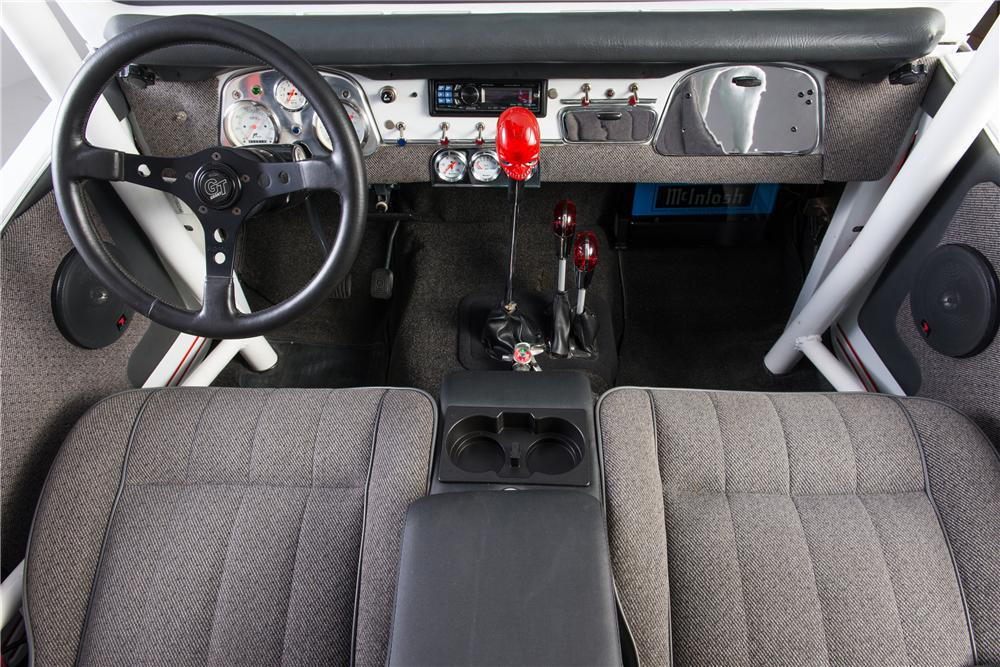 1974 TOYOTA LAND CRUISER FJ-40 CUSTOM - Interior - 161768