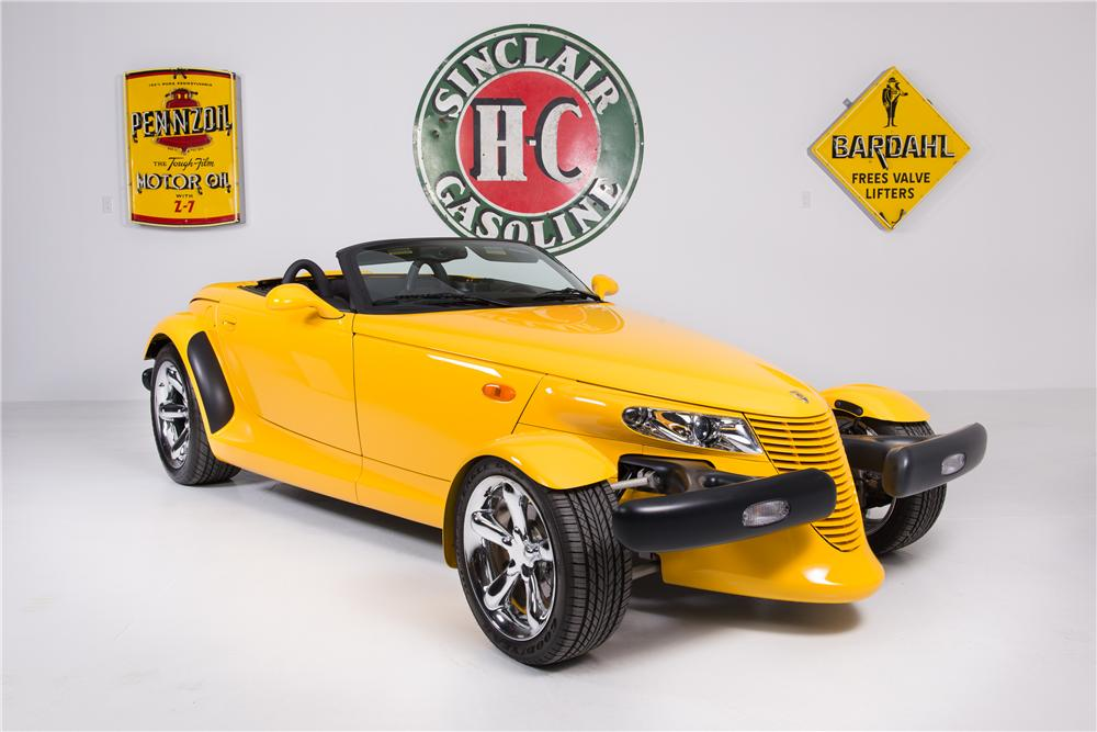 2000 PLYMOUTH PROWLER CONVERTIBLE - Front 3/4 - 161771